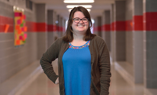 Hanna Olivier is one of 10 Mississippians named an American Graduate Champion by Mississippi Public Broadcasting