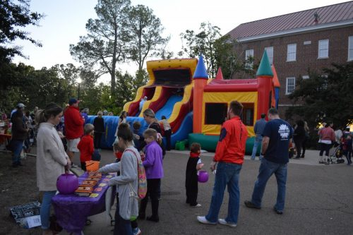 The festival offered a variety of fun activities for local families.